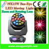 Biene Eye 19 X 15W LED Beam Wash Moving Head Light mit Zoom RGBW 4 in 1 für Disco Lighting, DJ Lighting, KTV, Party, Studio