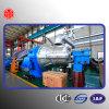 Citic turbina de vapor con paletas en movimiento