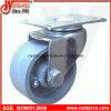 3 Inch Steel Swivel Caster mit Gray Cast Iron Wheel