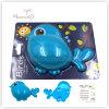 Support animal de brosse à dents d'enfants d'accessoires de salle de bains avec le surgeon (oiseau-shaped)