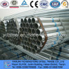 BS1387 Z500 Galvanzied Steel Pipes para Water