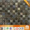 Badezimmer-Wand-dunkle Farben-Glasfliese mit Stein (M823077)