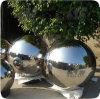Decorativo exterior Hollow 304 Esfera de acero inoxidable y bola