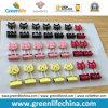 Sujetadores de papel modificados para requisitos particulares del gato de la dimensión de una variable de oficina de la fuente del clip colorido de la carpeta