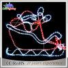 Luzes decorativas ao ar livre de Papai Noel do Natal do diodo emissor de luz