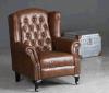 Lederner Aufenthaltsraum-Stuhl