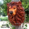 Tête principale d'animal de tenture de Lion de résine