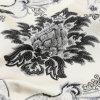 Nuova collocazione in bianco e nero 2018 del tessuto del jacquard in poliestere 100%