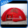 Vorteilhafter Preis-aufblasbares kampierendes Zelt, aufblasbares 8 Bein-Armkreuz-Zelt