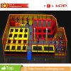 O parque apropriado profissional do divertimento de Children&Adults do preço brinca parques internos do Trampoline
