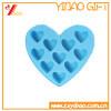 Изготовленный на заказ поднос льда силикона формы сердца (YB-SU-77)