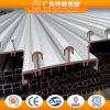 Alluminio di Weiye/Aluminio/rotaie di alluminio di profilo 2 per il portello scorrevole