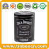 stagno ovale del metallo del fondente del whisky 300g/10.5oz per la casella di memoria della caramella