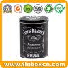 300g/10.5oz 사탕 저장 상자를 위한 타원형 위스키 연한 캔디 금속 주석