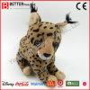 Brinquedo macio do luxuoso do lince do animal enchido do presente da promoção En71 para crianças