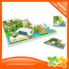 Lustige Innenvergnügungspark-Spiel-Spiel-Zelle für Kinder