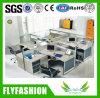 Poste de travail moderne de personnel de meubles de bureau pour 6 personnes (OD-26)
