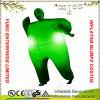 Groene Gemaskeerde Prinses met Volwassene van de Uitrusting van het Kostuum van LEIDENE de Lichte Opblaasbare Volledige Blimpz van het Dekkleur