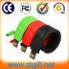 Pulsera de silicona USB Pulsera USB Anillo PA PA Flash Drive