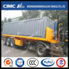 Cimc Huajun 20FT 3axle Flatbed Tipping Trailer