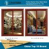 Foshan 제조자 최고 가격 안뜰 룸을%s 실내 알루미늄 건축재료 미닫이 문