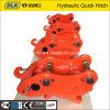 Acoplador de liberação rápida de escavadeira hidráulica, acoplamento rápido