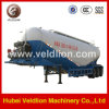 3 eixo V-Type Tanker Semi Trailer com Air Compressor para o Asian Market