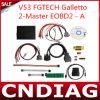 2014 el Fgtech más nuevo Galletto 2-Master V53 el ECU Programmer Eobd2
