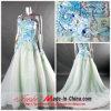 Um Ombro vestido de Noite/vestido de casamento D-433)