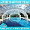 Telhados de piscina comercial motorizados de grande porte personalizados