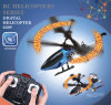 Flashing3CH RC Helicopter met Shining LED Letters in Blade, #6309u
