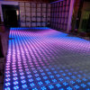 El panel portable Dance Floor de 3D LED para la boda del partido del concierto
