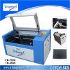 Mini tipo gravador de Triumphlaser do laser da máquina de estaca do laser do CO2 do gravador do laser de 500*300mm (TR-5030)