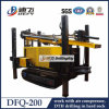 200m maximum DTH Hammer Air Compressor Water Well Drilling Rig