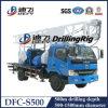 Dfc-S500 Chariot de grand diamètre de perçage pour la vente de la machine de forage de puits