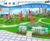 Parque de Diversões Escalada e Slide Combinação playground para as crianças (H14-0877)