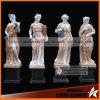 Women di quattro stagioni God Stone Sculptures in giardino Decoration