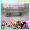 Pan doble laminado de Tailandia República Federativa de Yugoslavia Helado maquina helado frito Máquina de rodillos