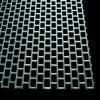 Lamiere sottili perforate galvanizzate del foro quadrato