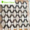 Azulejo de mosaico de mármol oscuro mezclado de Crema Marfil Emperador Brown
