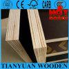 12mm, 15mm, madeira compensada Shuttering de 18mm/molde/materiais de construção concretos/película enfrentou a madeira compensada