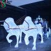 Lumières de transport de Cendrillon de transport de cheval de Noël DEL