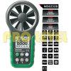 Anemômetro digital de umidade e temperatura (MS6252B)