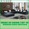 Sofá novo do sofá do couro do projeto da venda por atacado U da forma da chegada