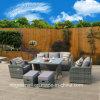 Neuer Entwurfs-Patio-Freizeit-Garten-Hotel-Aufenthaltsraum-im Freienrattan-Sofa-Möbel