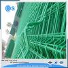 Groen pvc bedekte 3D Gelaste Fabriek van de Comités van de Omheining van het Netwerk van de Draad met een laag