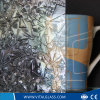 세륨 & ISO9001를 가진 3-6mm 로즈 장식무늬가 든 유리 제품