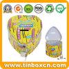 De Bank van het Muntstuk van het Tin van het Metaal van de douane voor De Verpakking van de Giften van de Spaarpot