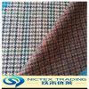 La pura 100% Lana tejido grueso, Gran Bretaña de Tweed de lana tejido Houndstooth estilo RU abrigo tejido de 300gsm