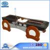 DB100 de tout le corps de thérapie de Jade thermique électrique Lit de massage avec MP3